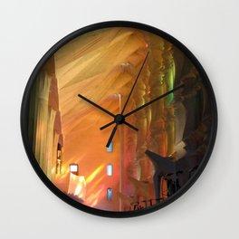 Gaudi, La Sagrada Familia Wall Clock
