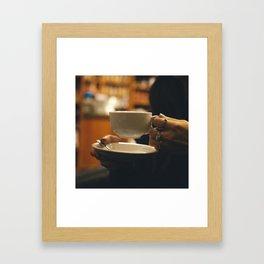 Expresso Yourself Framed Art Print