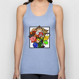 Super Smash 64 Roster Unisex Tank Top