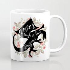 Never Laugh At Live Dragons Mug