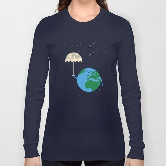 Moonbrella Long Sleeve T-shirt