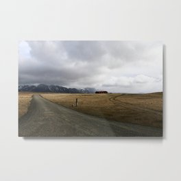 Amazing Landscape in Iceland Metal Print