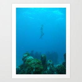 Free exploration Art Print