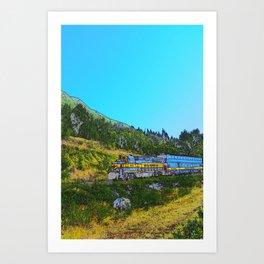 Chugach Explorer Art Print