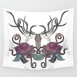 THE EVIL DEER Wall Tapestry