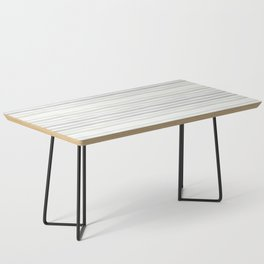 Watercolor Stripes Hues of Grey by Friztin Coffee Table