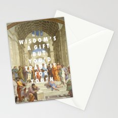 The Step of Athens Stationery Cards