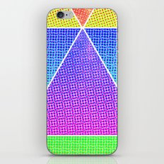tri-double double iPhone & iPod Skin