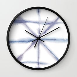 Light Dye - Folding Blues Wall Clock