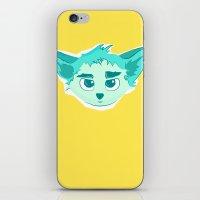elf iPhone & iPod Skins featuring Elf by Gabriel