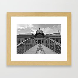 Fish Auction Hall in Hamburg-Altona Framed Art Print