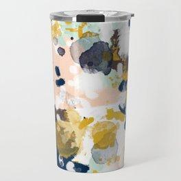 Sloane - abstract painting gender neutral baby nursery dorm college decor Travel Mug