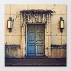 Doors are made to be Open! Canvas Print