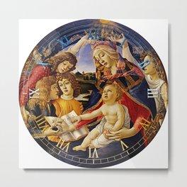 Timepiece - Madonna of the Magnificat Metal Print