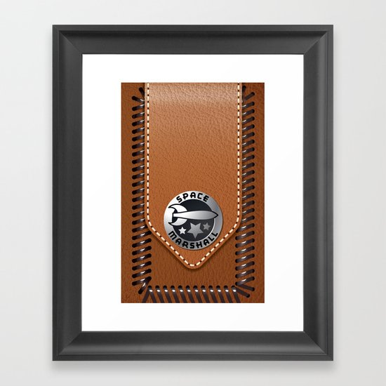 SPACE MARSHALL Framed Art Print