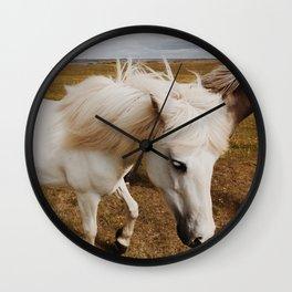 Icelandic Horse #6 Wall Clock