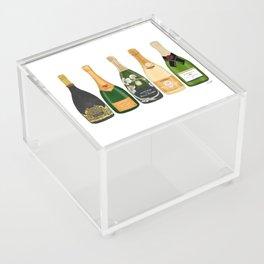 Champagne Bottles Acrylic Box