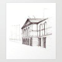 Chicago Art Institute Art Print