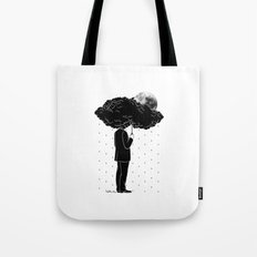 My life is a Storm Tote Bag