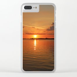 The River Afire Clear iPhone Case