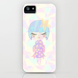 Starry Girl iPhone Case