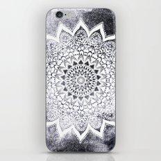BOHO WHITE NIGHTS MANDALA iPhone & iPod Skin