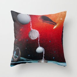Many Moons From Now Throw Pillow
