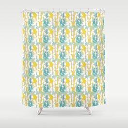 Springtime Paint Shower Curtain