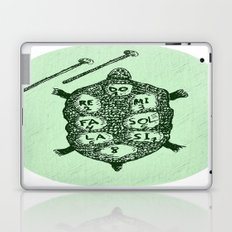 Turtle on Green Laptop & iPad Skin