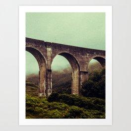 SCOTLAND / Glenfinnan (Viaduct), Highlands / 01 Art Print
