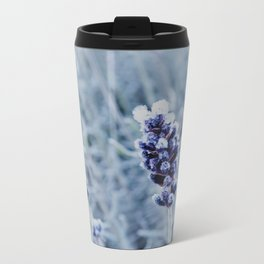 lavender with white frost Travel Mug