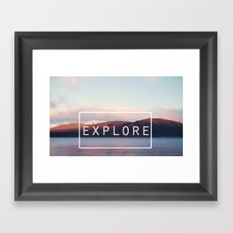 Explore. New Zealand Framed Art Print
