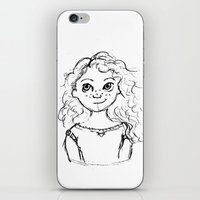 merida iPhone & iPod Skins featuring Merida by rapunzette