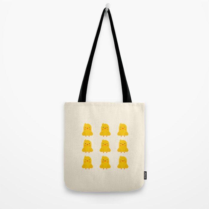 Cute Kawaii Chicks Tote Bag