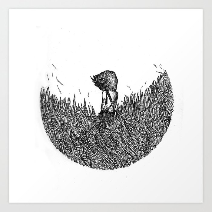 If You Keep Asking Me I'll melt Away In The Summer Air Art Print