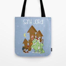 Sant_Jordi Tote Bag