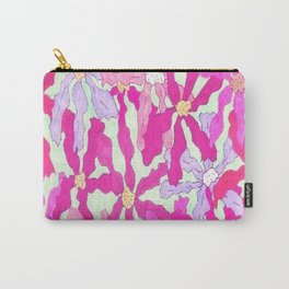 Bright and Hazy Floral Carry-All Pouch