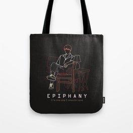 BTS JIN EPIPHANY LINE ART Tote Bag