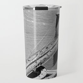 Brooklyn Bridge View - New York City Travel Mug