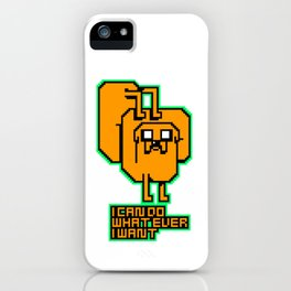 I do whatever I want!! iPhone Case