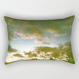 Window sunset Rectangular Pillow