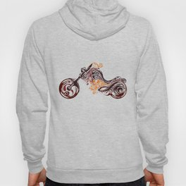 Abstract Motorcycle Hoody