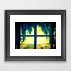 Life on the other side Framed Art Print