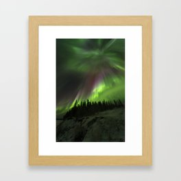 Powerful Aurora Framed Art Print