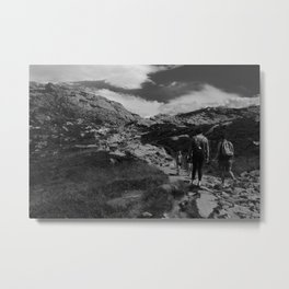 Mt. Ulriken, Norway Metal Print
