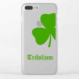 Shamrock Clear iPhone Case