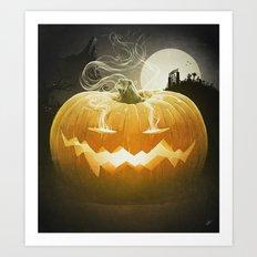 Pumpkin I. Art Print
