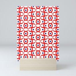 Puigua in red Mini Art Print