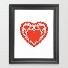 You pull on my heart strings Framed Art Print