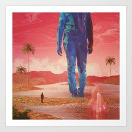 Selfscape dream Art Print